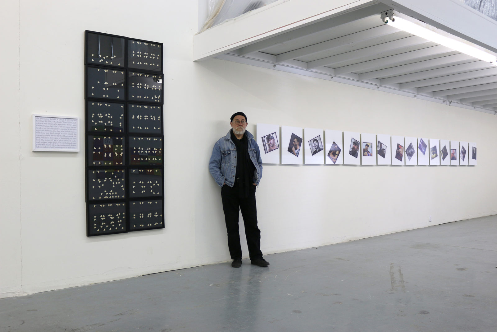 Bruce Eves, Raw War installation view 2015