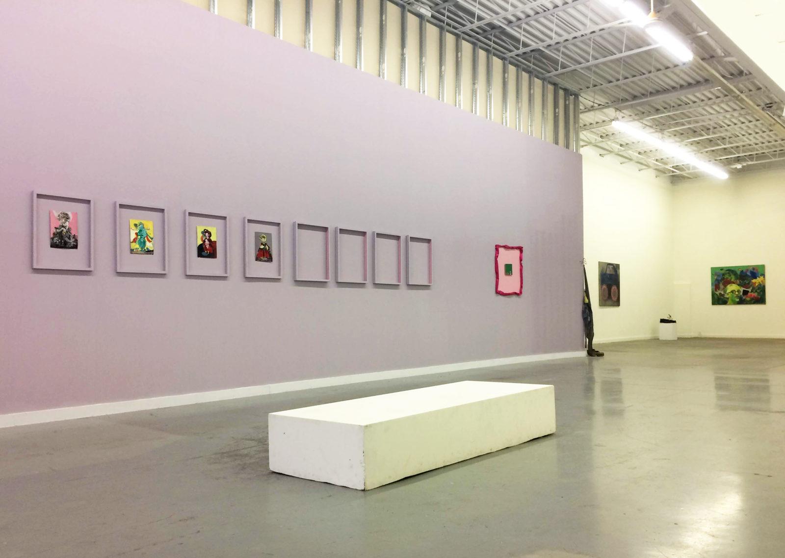 Gon Bregu install view