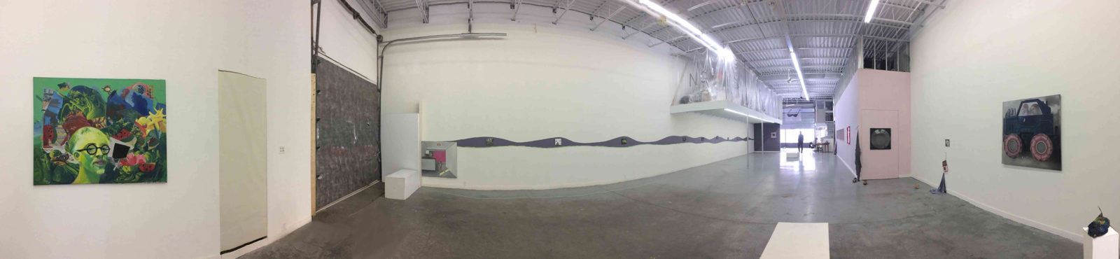 long installation view Gon Bregu